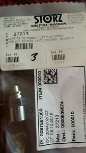 27213 Karl Storz Adaptor To Connect 27211lo To Toomey Syringe Reusable