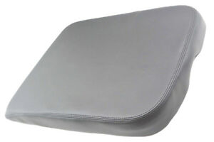 Center Console Armrest Real Leather Cover For Dodge Ram 02 08 Gray