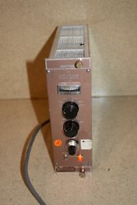 Ortec Model 456 High Voltage Power Supply Nim Bin Plug In tp613