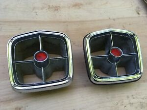 1963 Plymouth Wagon Tail Light Bezels