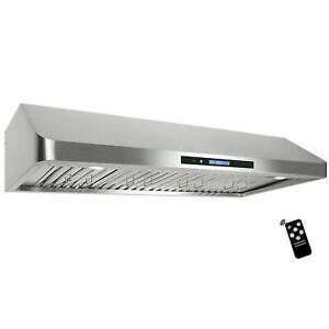 Cosmo Qs48 48 in Under cabinet Range Hood 1000 cfm With Ducted ductless Converti