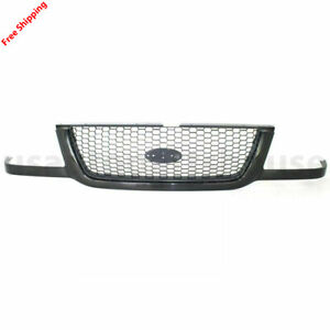 New For Ford Ranger Front Grille Black Fits 2001 2003 3l5z8200ba Fo1200395
