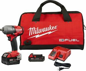 Milwaukee Electric Tools 2861 22cx M18 Fuel 1 2 Mid torque Impact Wrench Auto K
