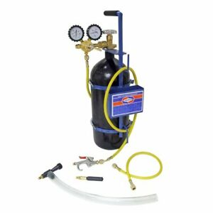 Uniweld 40040 Nitrogen Sludge Sucker And Blaster Kit With Metal Carrying Stand F