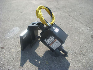 Toro Dingo Mini Skid Steer Attachment Lowe 750 Auger Post Hole Drive Ship 199