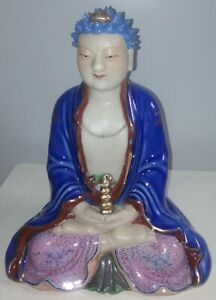 Antique Chinese Porcelain Buddha Figurine Early Peoples S Republic Of China
