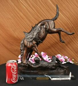 Wicked Pony By Frederic Remington Bronze Reissue Hot Cast Home Office Figurine