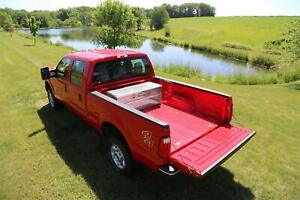 Truck Bed Tool Box Storage Compartment Aluminum Trailer Pickup Underbed Flat Bed