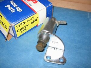 Chevrolet 1976 454 V8 Big Block Idle Stop Solenoid 1997437