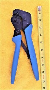 Amp Ratcheting Crimping Pliers G 0221 22 24 26 28 Awg
