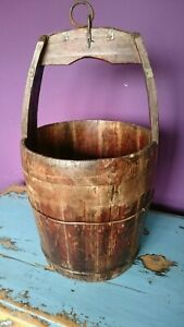 Antique Chinese Well Bucket