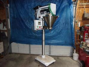 Parts Repair All fill Powder Auger Filler Complete With Controls Bad Board