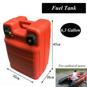 Portable Boat Fuel Tank Marine Outboard Gas Storage 24l 6 3gallon For Yamaha