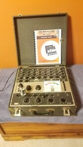 B k 700 Tube Tester As is for Parts Or Repair