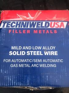 Techniweld Aws A5 18 er70s 6 Mig Welding Wire 33lb Roll 045 Beats Lincoln Wire