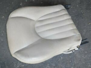 1997 2001 Jaguar Xk8 Drivers Left Seat Track Bottom Tan No Switch