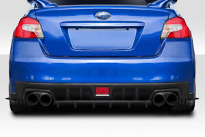 15 19 Subaru Wrx C speed Duraflex Rear Bumper Diffuser Body Kit 114625