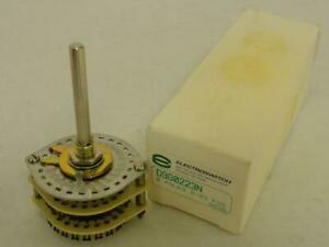 92196 New In Box Electroswitch D9g0223n Rotary Switch 2 Pole