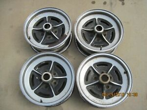 Buick Chrome Rally Wheels 15x6 Riviera Lesabre Centurion Demo Derby Demolition