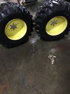 John Deere 4300 4x4 Tires And Wheels