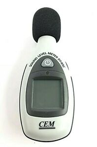 Cem Dt 85c Sound Level Noise Meter Tested Working