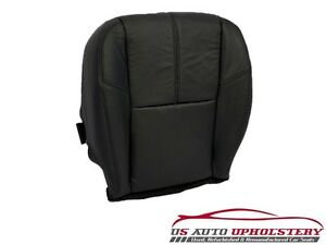 2007 2012 Chevy Silverado 2500hd Lt Ltz Passenger Bottom Vinyl Seat Cover Black