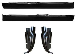 Rocker Panel And Cab Corner Kit 02 08 Dodge Ram Quad Cab 1500 2500 3500 Kit