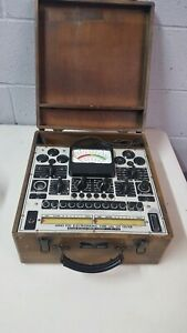 Antique Precision Series 920 Electronamic Tube And Set Tester