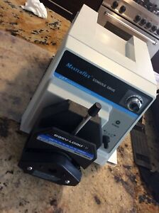 Masterflex Consol Drive Peristaltic Pump With Ease Load Ii Head
