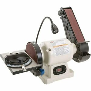 Shop Fox W1838 Combo 2 Belt Sander 6 Disc Sander