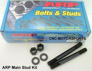 Arp Main Stud Kit 235 5601 Bb Chevy Dart Big M W Splayed Cap Bolts 4 Bolt Main