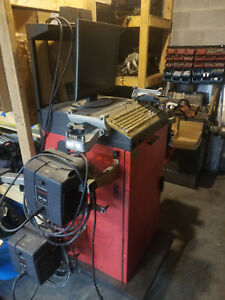 Hunter P411 Alignment Machine System W Heads Cables Updated Specs