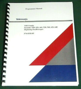 Tektronix Tds 420a 430a 460a 510a User Manual Comb Bound Protective Covers