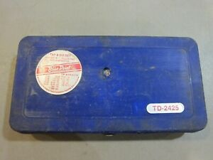 Td2425 Blue Point Sae Tap Die Set Complete Made In Usa Free Shipping