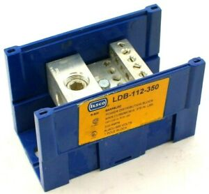 Ilsco Ldb 112 350 Snapbloc Power Distribution Block new No Box