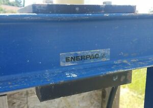 Enerpac Benchtop Press And Rc 1014 Hydraulic Cylinder 10 Ton Cap 14 Stroke