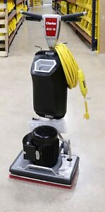 Clarke Bos 18 Orbital Floor Machine 01555a W Solution Tank