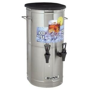 Bunn 37750 0002 Tcd 2 Dual Head 2 Gallon Iced Tea Concentrate Dispenser