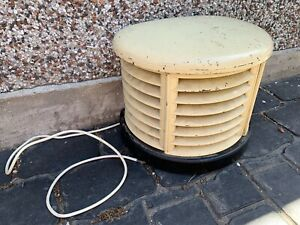 House Clearance Attic Find Rare Upycle Project Art Deco Electric Cream Heater