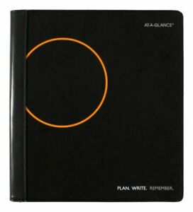 At a glance Plan Write Remember 18 month Planner 9 X 11 Black 7062060520