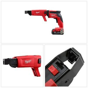 Collated Screw Gun Drill Attachments Power Tool Accessories 98 Lb Metal Red New