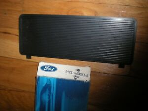 Nos 1979 1984 Ford Mustang Radio Delete Plate D9bz 5404371 A