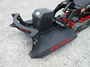 Pro Works 48 Mini Skid Steer Direct Drive Brush Cutter Attachment Free Ship