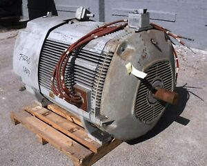 500 Hp West Electric Motor 1800 Rpm 6809s Frame Tefc Exp 2300 V