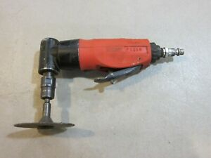Snap on Pt210 Mini Angle Air Die Grinder 1 4 Collet 23 000 Rpm Free Shipping