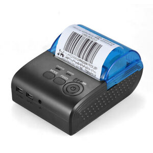 Portable 58mm Wireless Usb Thermal Printer Receipt Pos For Ios Android K4r0