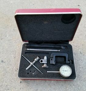 Starrett No 196 Dial Test Indicator Set