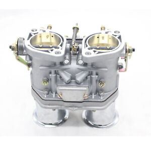 Carburetor Carb 48 Idf Fit For Solex Dellorto Weber Empi 48mm W Air Horns New