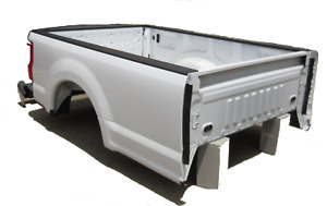 Ford Super Duty Aluminum Long Truck Bed Fits 2017 2019 Tailgate Bumper New