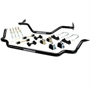 Hotchkis Sway Bar Black Steel Front 1 3 8 rear 1 5 16 Dias Buick Chevy Olds